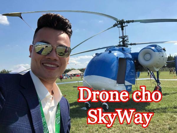 Drone cho SkyWay